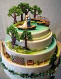 Весільний торт весілля барбі